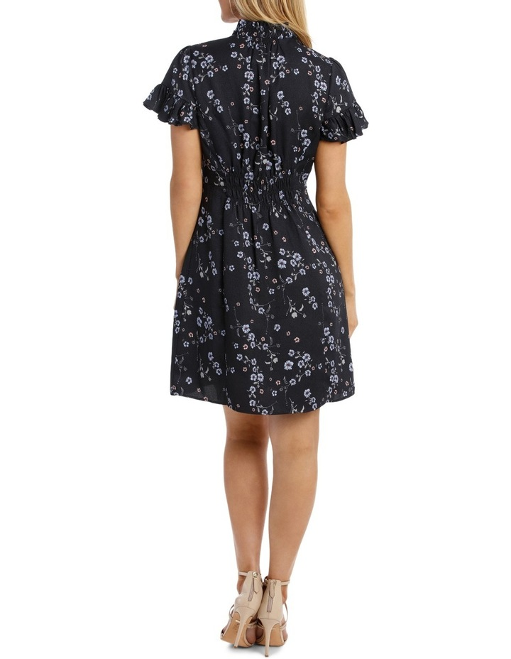 Cherry Blossom Frill Sleeve Dress image 3
