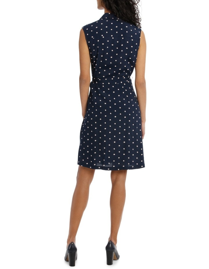 Soft Shirt Dress Print image 3