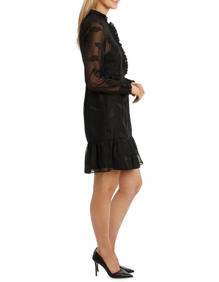 Vine Jacquard Long Sleeve Dress image 2