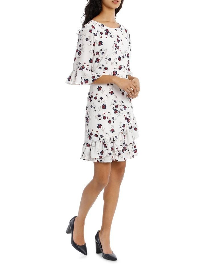 Woodland Floral Ruffle Hem Dress image 2