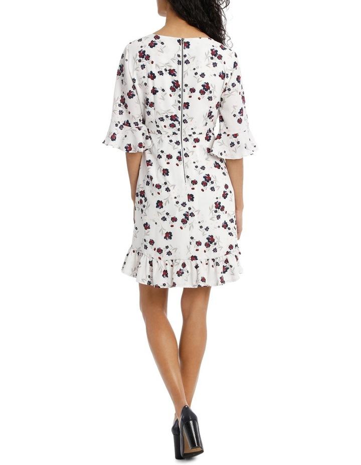 Woodland Floral Ruffle Hem Dress image 3