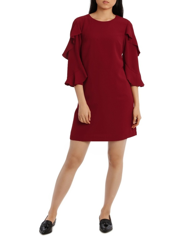 Lazer Cut Frill Dress image 1