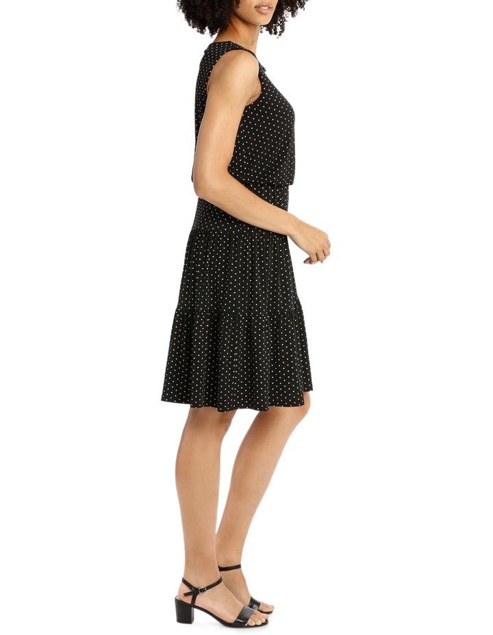 Hot Price Blouson Tiered Hem Jersey Dress image 2