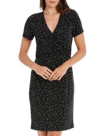 Basque MSS ROUCHED JERSEY DRESS 06c6a335ae7f