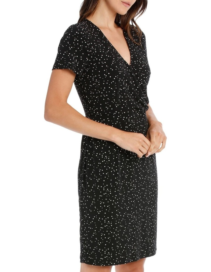 MSS ROUCHED JERSEY DRESS image 2