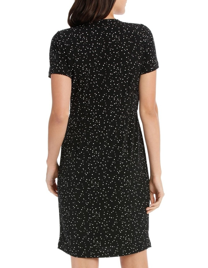 MSS ROUCHED JERSEY DRESS image 3