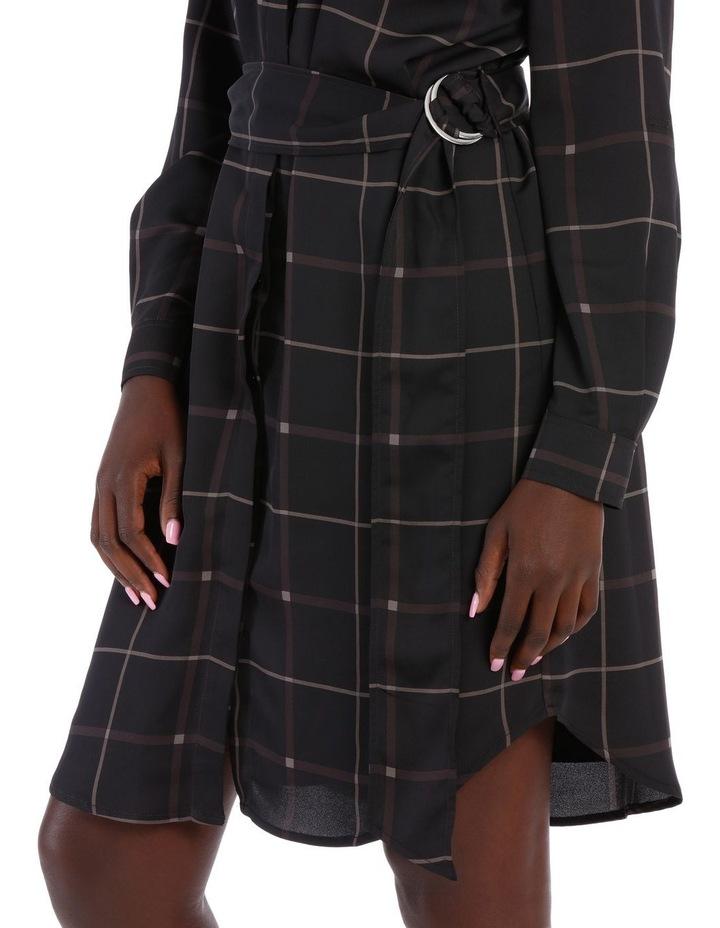 Check Shirt Dress image 4
