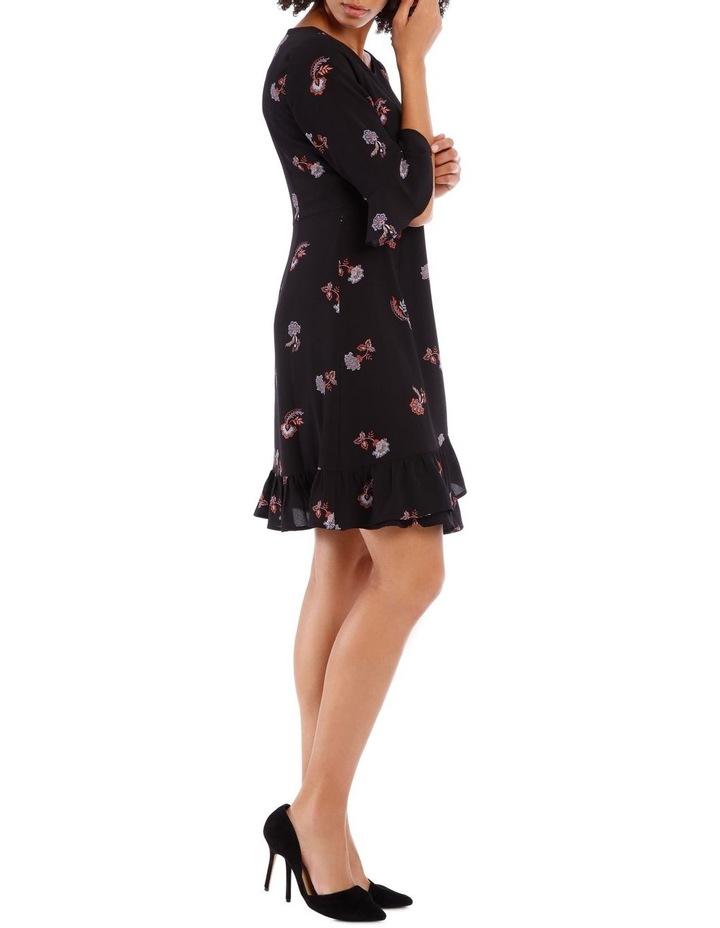 Ruffle Printed Dress image 2