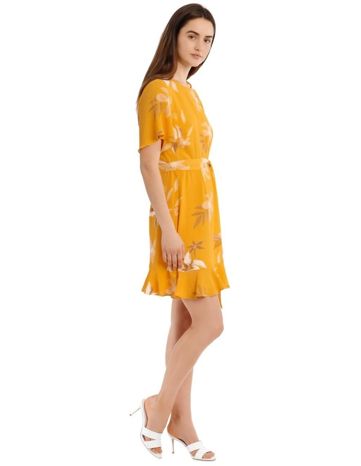 Flutter Sleeve Shift Dress image 2