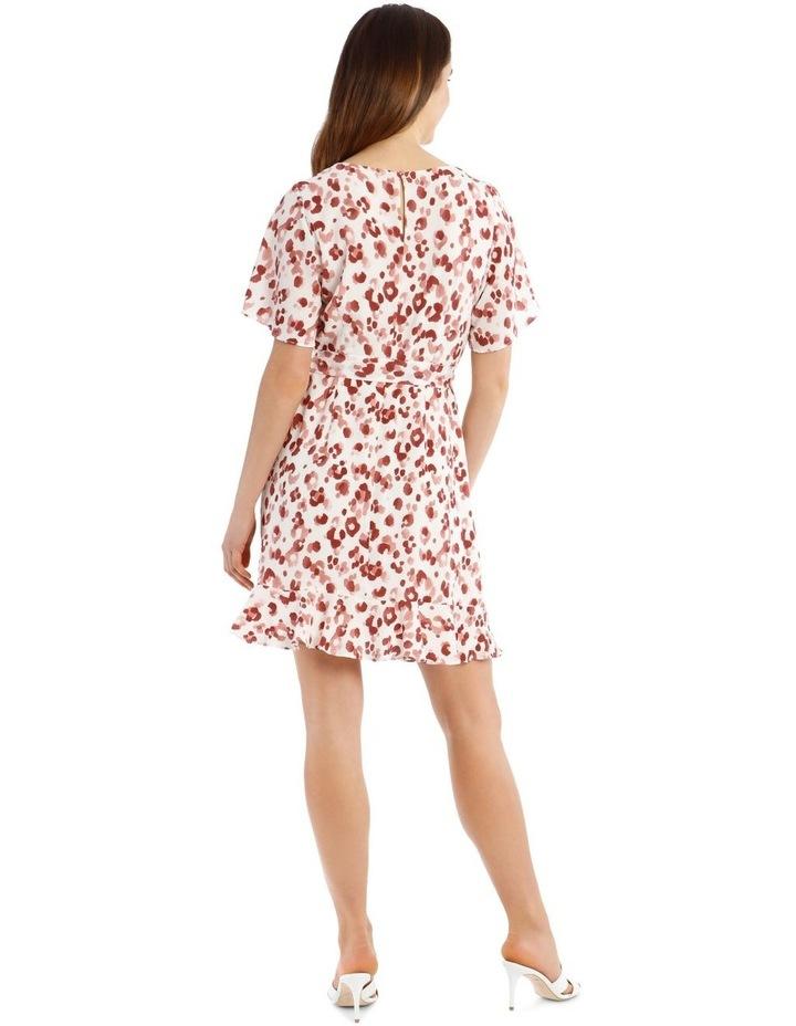Flutter Sleeve Shift Dress image 3