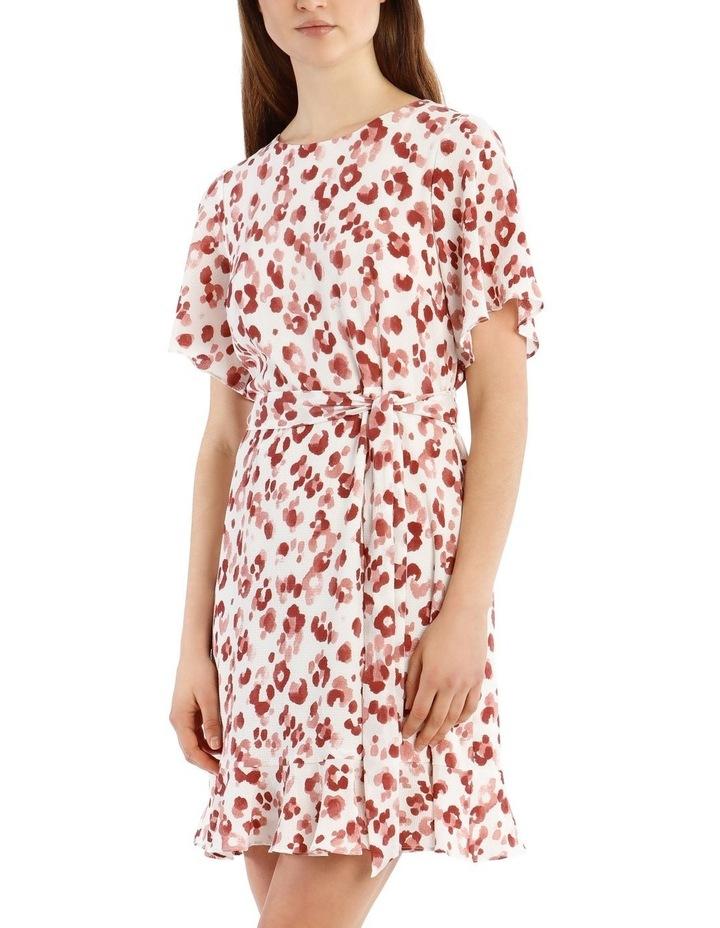 Flutter Sleeve Shift Dress image 4