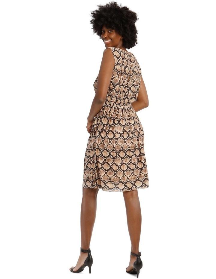 Pleated Jersey Dress image 3