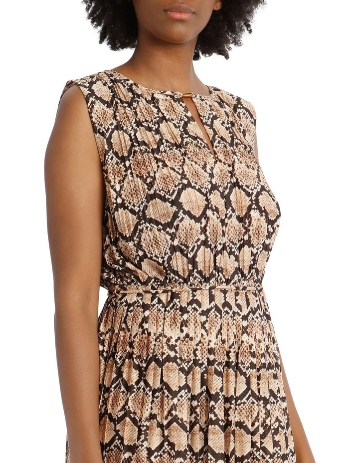 Pleated Jersey Dress image 4