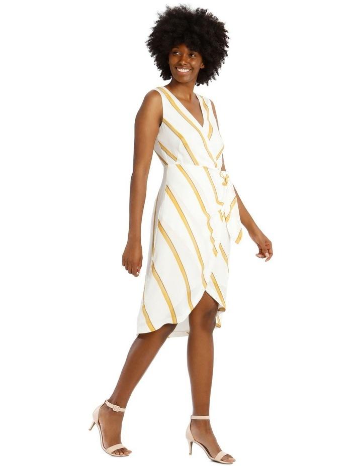 Sleeveless Wrap-Tie Dress image 2