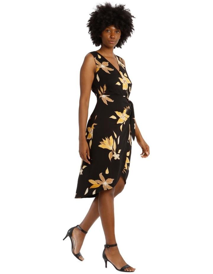 Sleeveless Wrap Tie Dress image 2