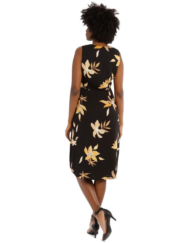 Sleeveless Wrap Tie Dress image 3