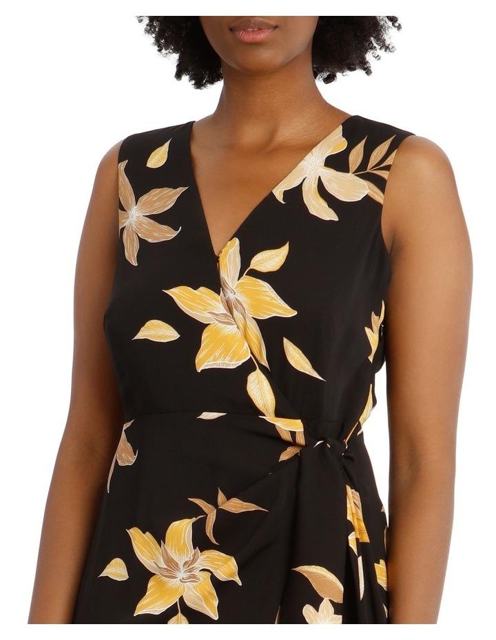 Sleeveless Wrap Tie Dress image 4