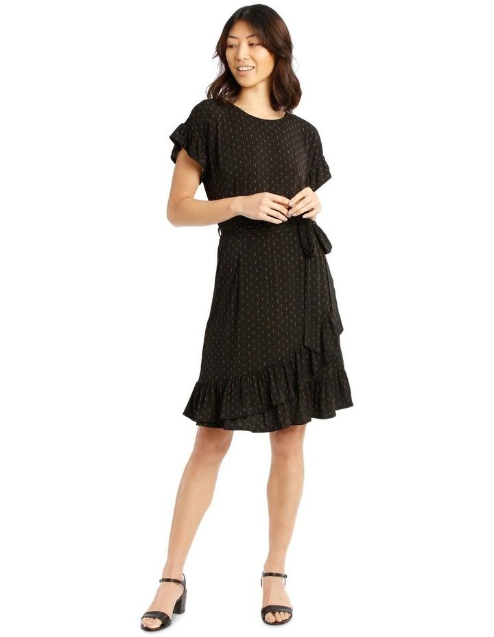 Jersey Ruffle Dress image 1