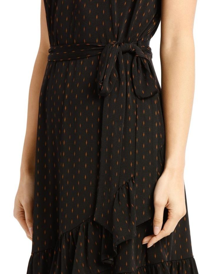 Jersey Ruffle Dress image 4