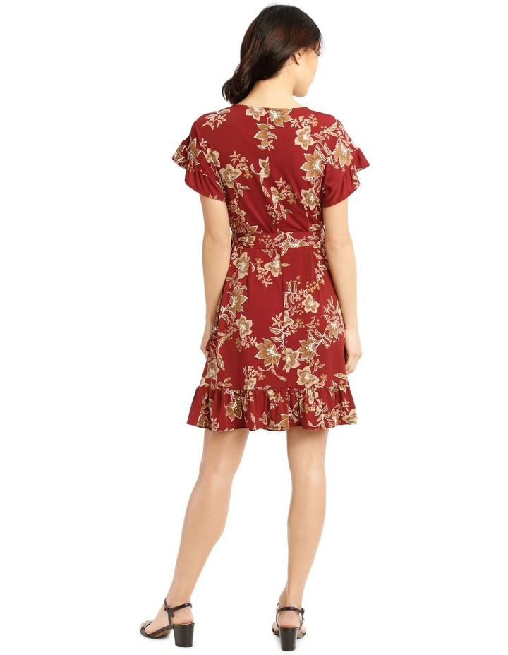 Jersey Ruffle Dress image 3