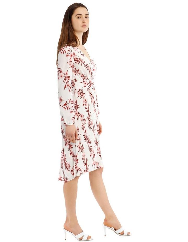 Pleated Hi-low Midi Dress image 2
