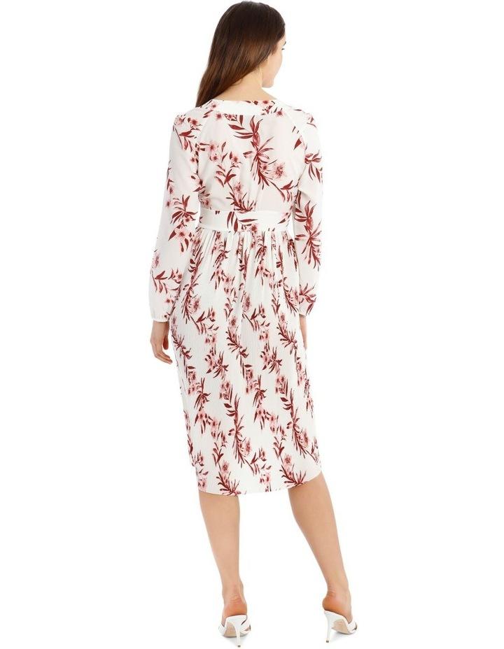 Pleated Hi-low Midi Dress image 3