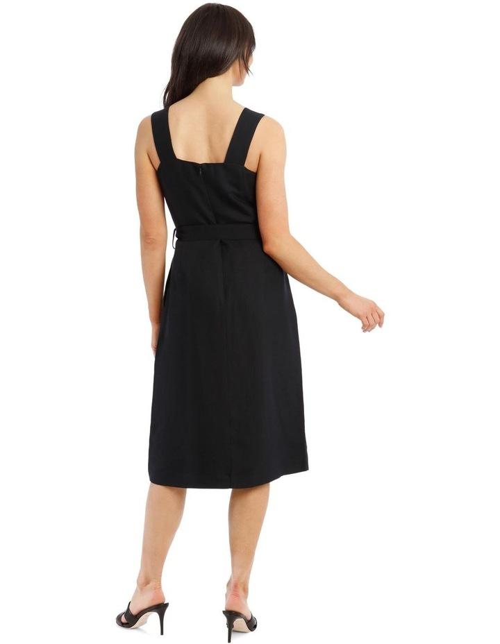 Midi Button Front Dress image 3