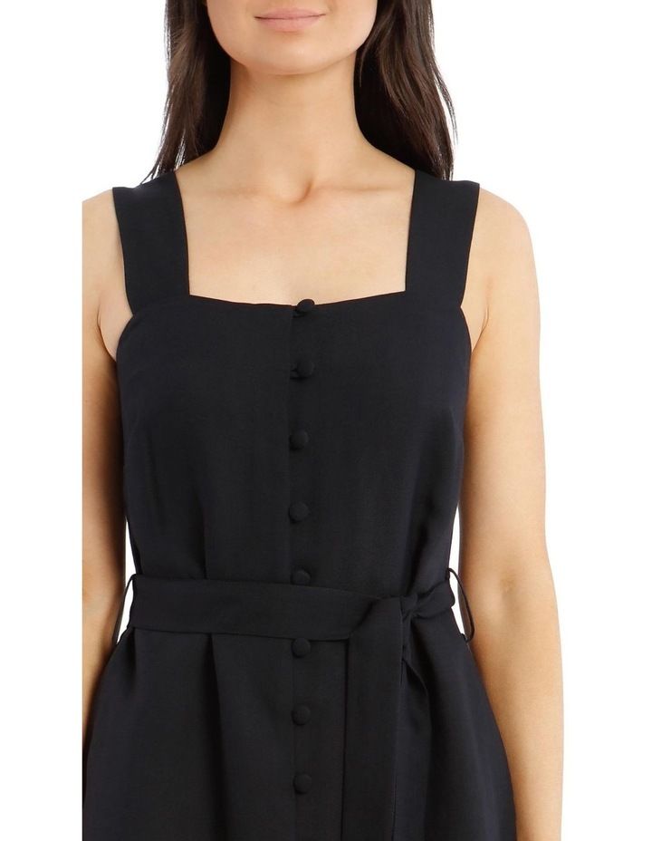 Midi Button Front Dress image 4