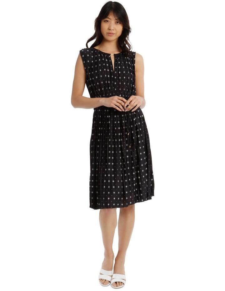 Pleated Jersey Dress image 1