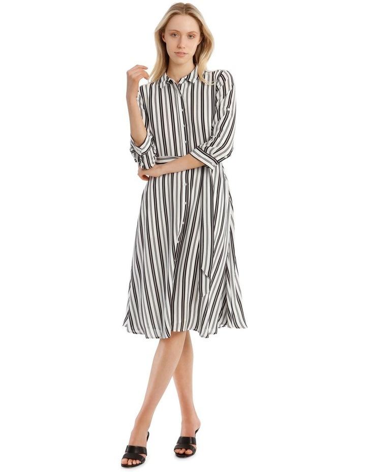 Stripe Shirt Dress image 1