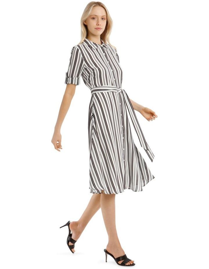 Stripe Shirt Dress image 2