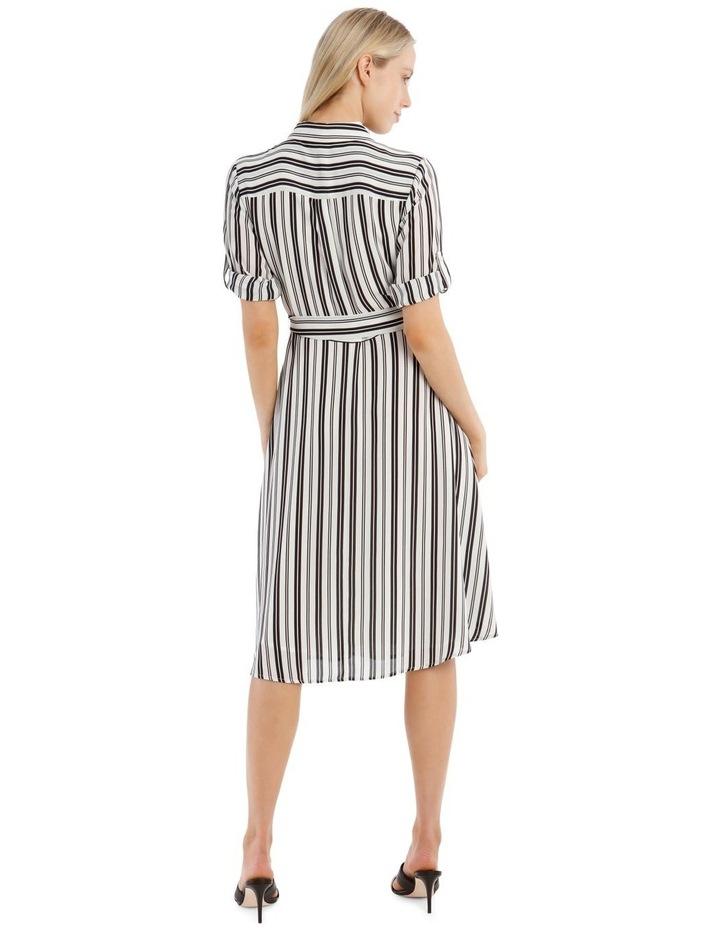 Stripe Shirt Dress image 3