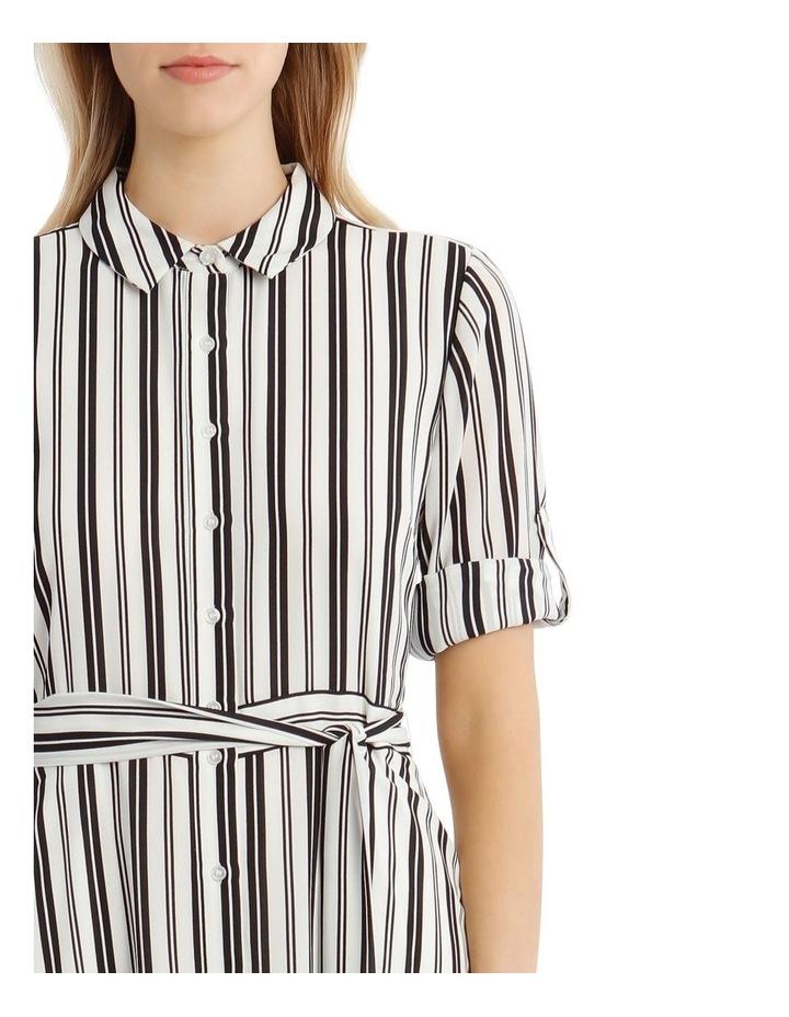 Stripe Shirt Dress image 4