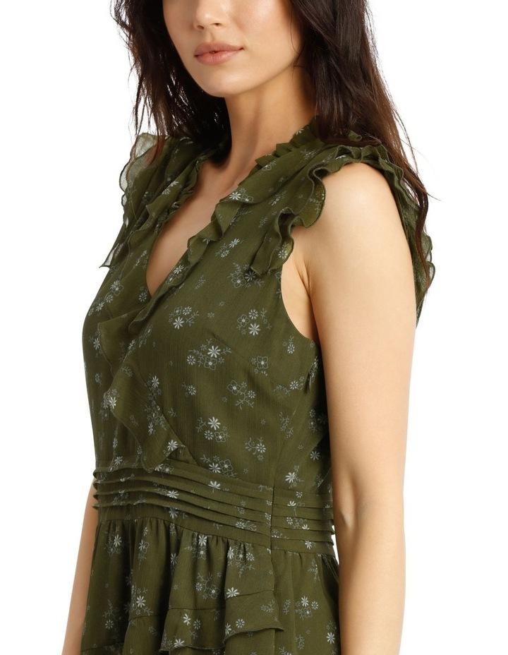 Ruffled Mini Dress image 4