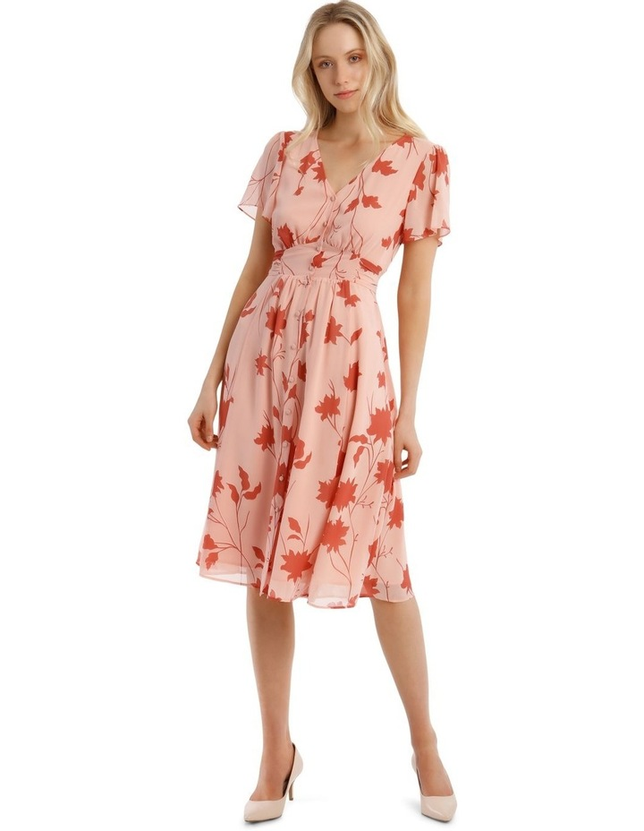 Button Through Tea Dress image 1
