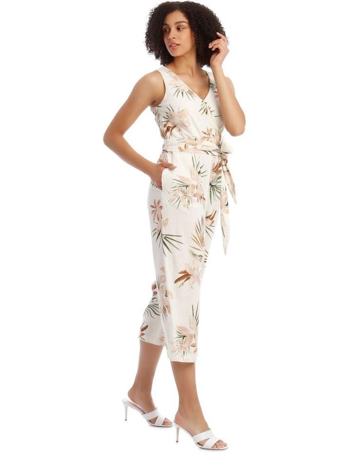 Wrap Linen Jumpsuit image 2