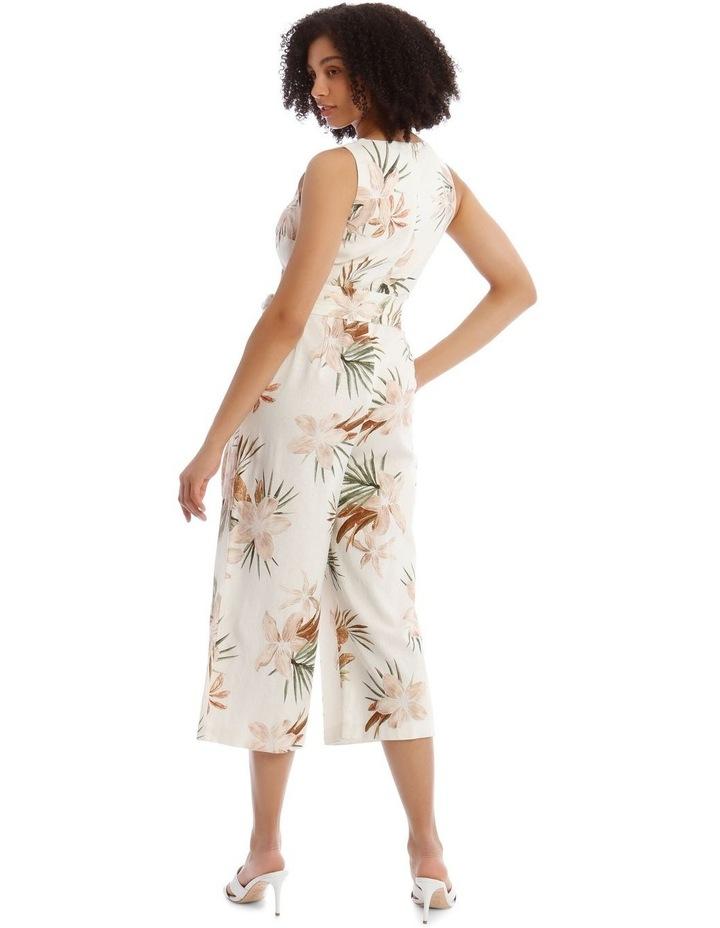 Wrap Linen Jumpsuit image 3