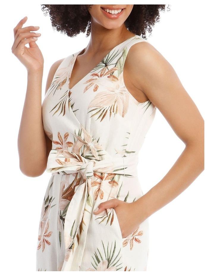 Wrap Linen Jumpsuit image 4