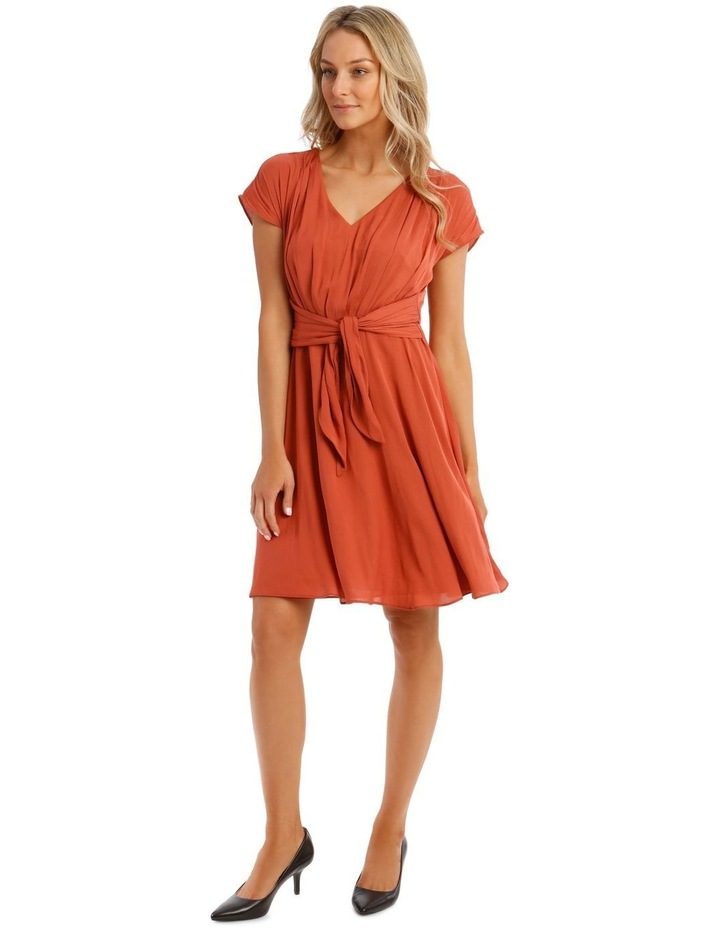 Tie Front Soft Dress image 1