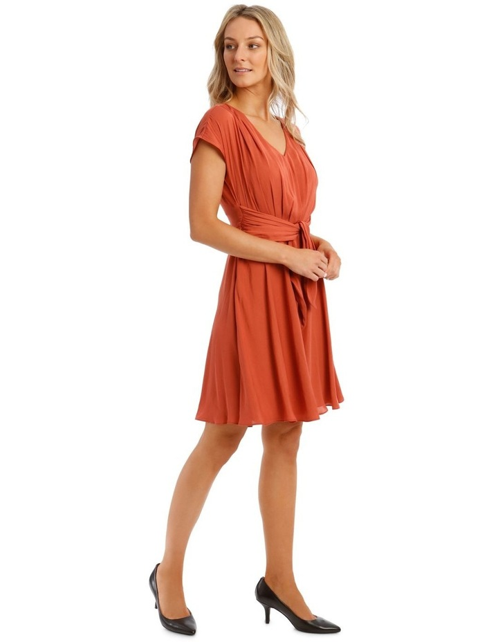 Tie Front Soft Dress image 2