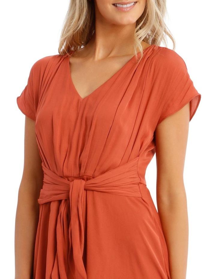 Tie Front Soft Dress image 4