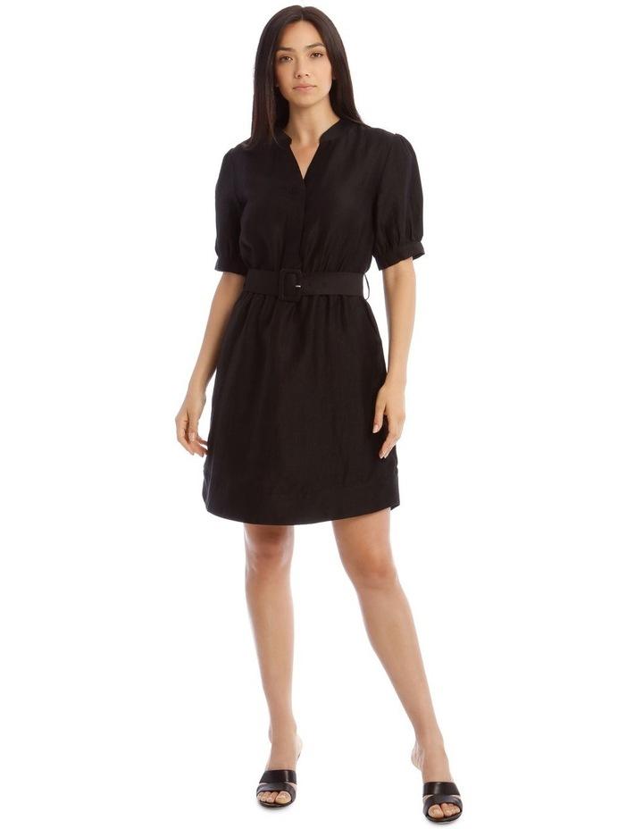 Linen Shirt Dress image 1