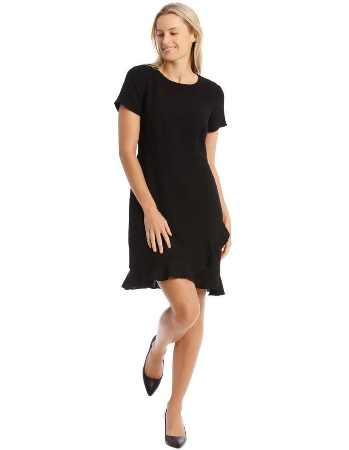 Crepe Ruffle Dress image 1