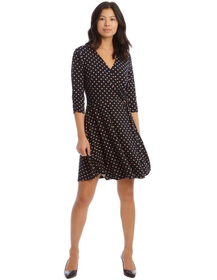 Printed Jersey Wrap Dress image 1