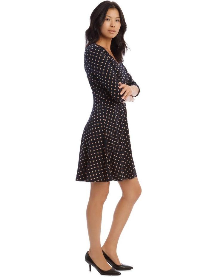 Printed Jersey Wrap Dress image 2
