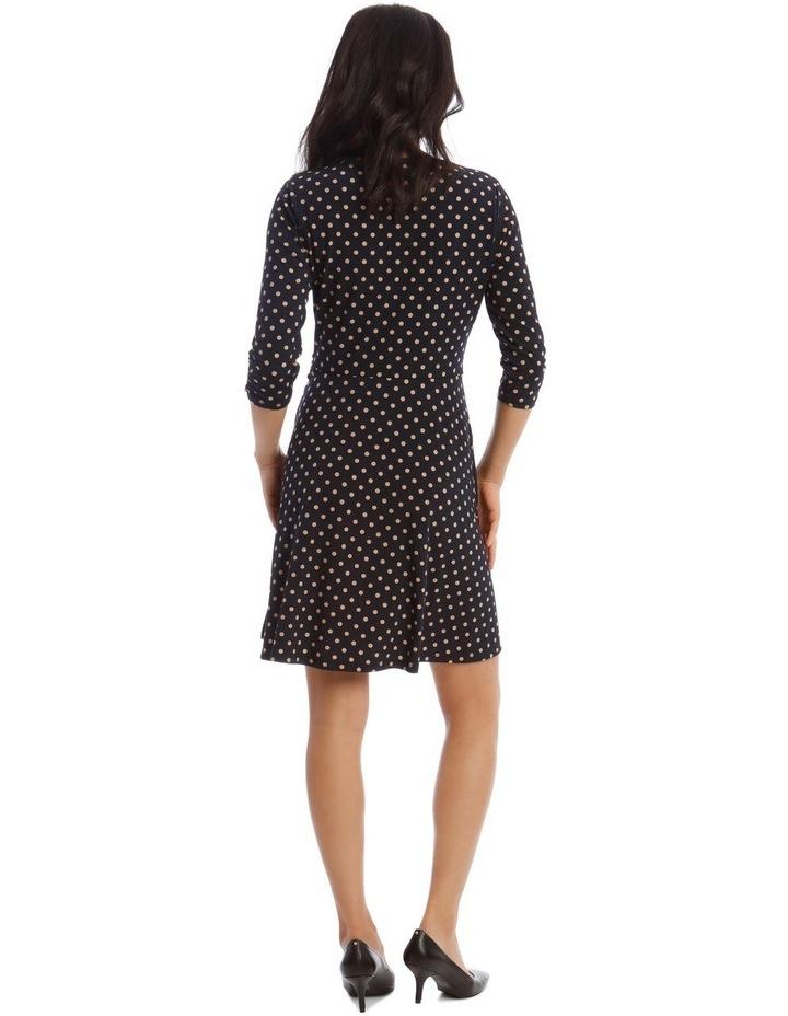 Printed Jersey Wrap Dress image 3