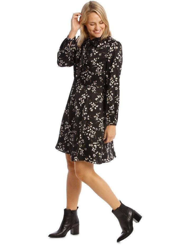 Long Sleeve Floral Dress image 2