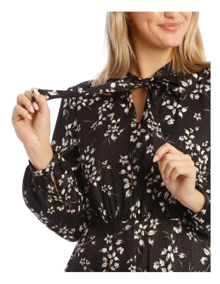 Long Sleeve Floral Dress image 4