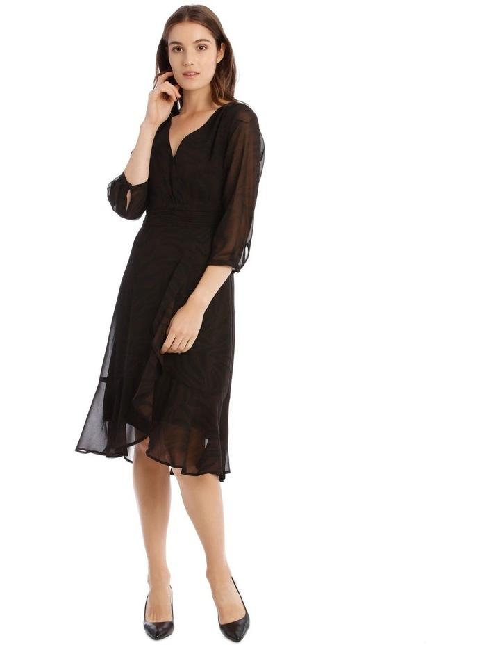 Soft Wrap Midi Dress image 1