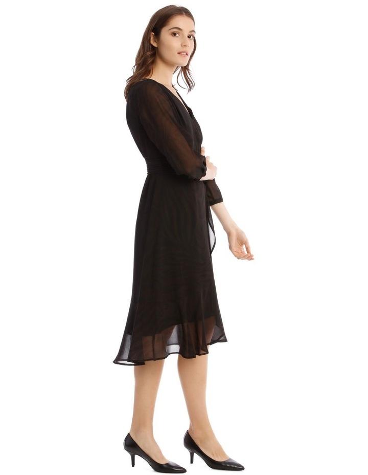 Soft Wrap Midi Dress image 2